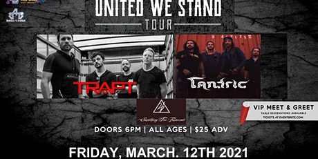 Trapt and Tantric tickets