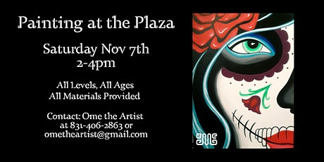 Painting at the Plaza 11/7 tickets