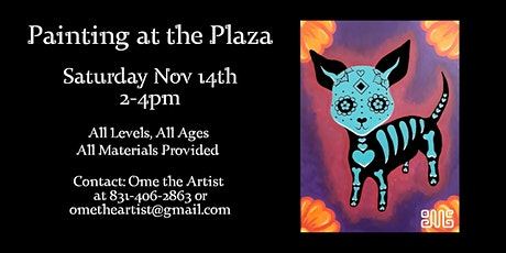 Painting at the Plaza 11/14 tickets
