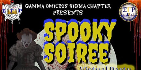 GOS Spooky Soiree Virtual Halloween Party tickets