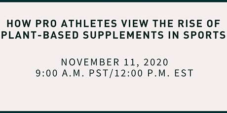 How Pro Athletes View the Rise of Plant-Based Supplements in Sports tickets
