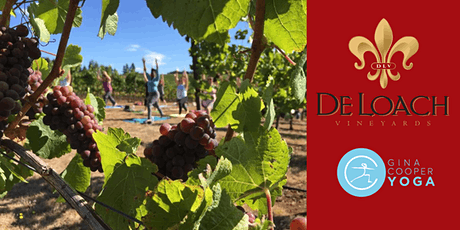 Yoga at DeLoach Vineyards with Gina Cooper tickets