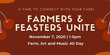 Farmers & Feasters, Unite tickets