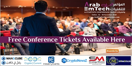 Arab EmTech and Startups Conference tickets