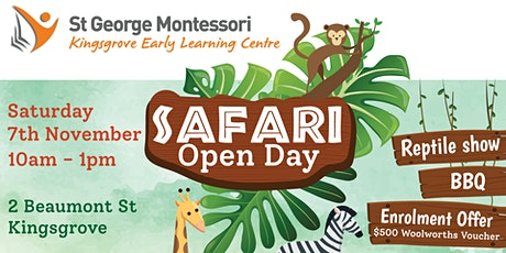 St George Montessori Kingsgrove Open Day 2020 tickets