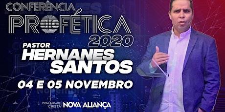 CONFERÊNCIA PROFÉTICA 2020 - 04/11 e 05/11 ingressos