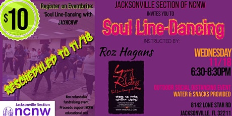 Soul Line-Dancing with JAXNCNW tickets