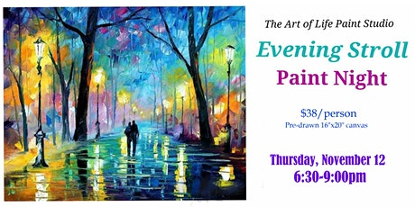 Paint Night: Evening Stroll tickets