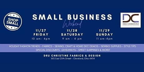 Small Business Weekend tickets