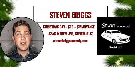 A Very Steven Briggs Christmas! PG13 Comedy at Starlite Lounge 21+ show tickets