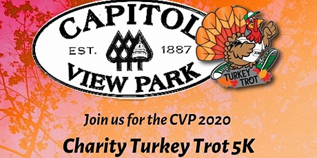 Capitol View Park's 2020 Charity Turkey Trot 5K tickets
