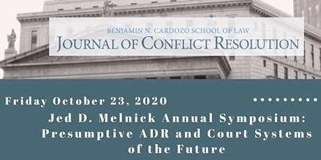 Jed D. Melnick Annual Symposium tickets