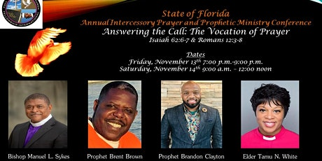 Intercessory and Prophetic Ministry Virtual Conference: Answering the Call tickets