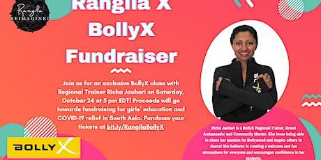 Georgetown Rangila  X  BollyX Fundraiser ! tickets