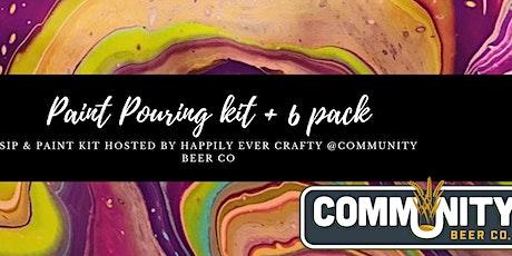 Sip & Paint Kit tickets