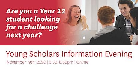 Young Scholars Presentation evening online tickets