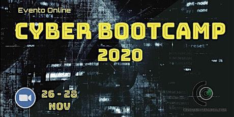 Cyber Bootcamp 2020 boletos