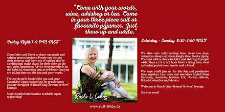 Writing stay-TREAT - Finding the Wonder in Your Words tickets