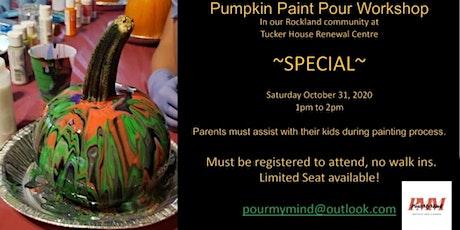Pumpkin Paint Pour Workshop tickets