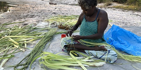 Online weaving and culture with Gunbalanya family on country. tickets