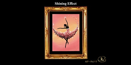 Sip and Paint (Shining Effect): Sweet Ballerina (Friday) tickets
