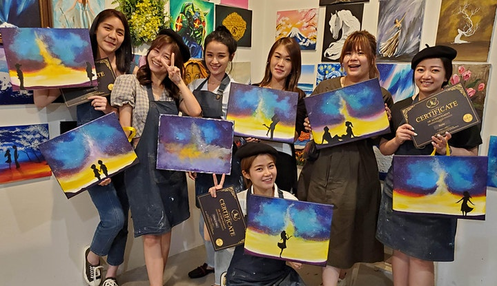 Sip and Paint: My Lady (Friday) image