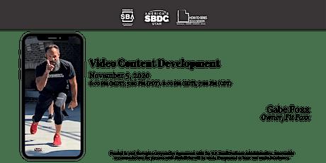 Video Content Development tickets
