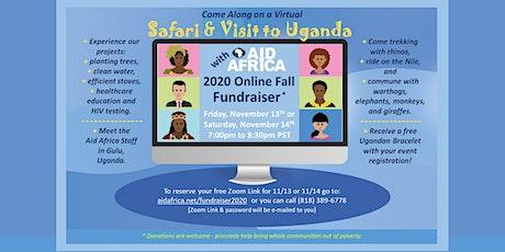 Virtual Safari & Visit to Uganda tickets