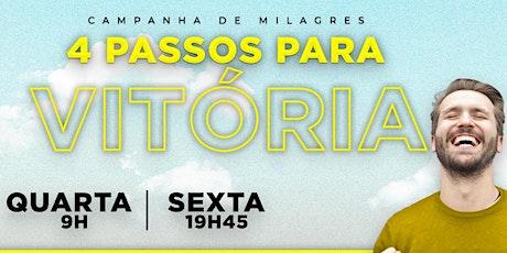 IEQ IGUATEMI - CULTO DE MILAGRES - QUA - 21/10 - 9H00 ingressos