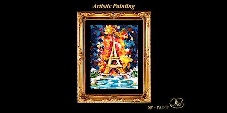 Sip and Paint: Eiffel Tower (Friday) tickets