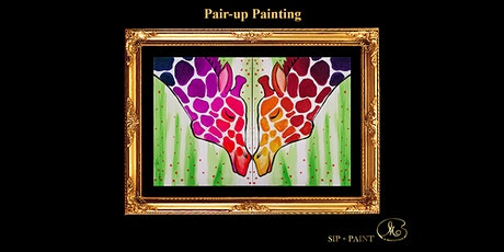Sip and Paint (Pair-up Canvas): Lovely Giraffe (Friday) tickets