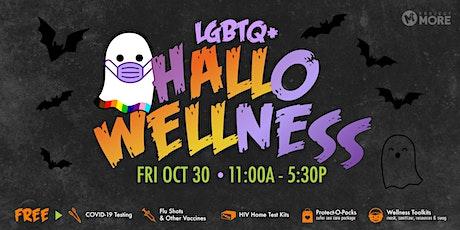 LGBTQ+ hALLoWELLness tickets