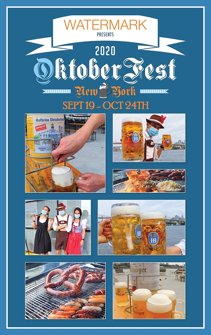 OktoberFest NYC 2020 at Watermark - SOCIAL DISTANCE EDITION image