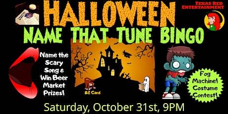Halloween Name That Tune Bingo at Leander Beer Market, Leander, Texas tickets
