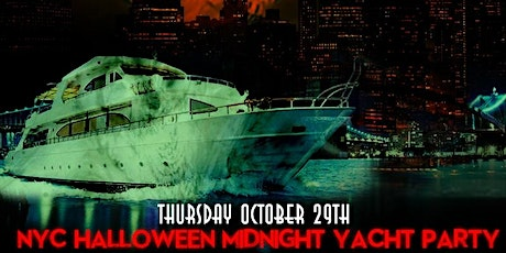 NYC HALLOWEEN MIDNIGHT YACHT PARTY!! THURSDAY, OCT. 29th 11:30pm - 2:30am tickets