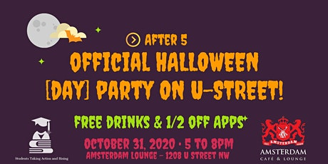 OFFICIAL HALLOWEEN [DAY] PARTY ON U-STREET tickets