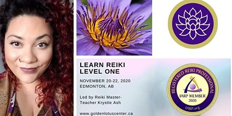Reiki Level One Certification Class - Edmonton @ Grow Center tickets