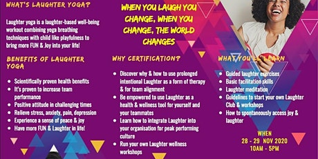 Laughter Yoga Leader Certification (Online) tickets