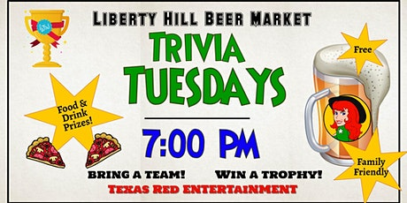 Trivia Night at the Liberty Hill Beer Market in Liberty Hill, Texas - Free tickets