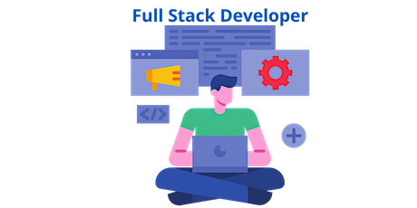 4 Weeks Only Full Stack Developer-1 Training Course in Lacey tickets