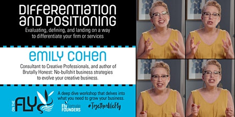 Differentiation and Positioning - ON THE FLY Workshop tickets
