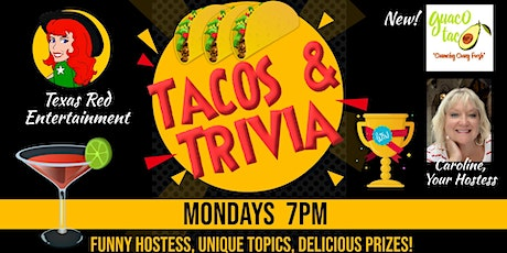 Trivia Night Mondays at Quaco Taco in Leander, Texas tickets