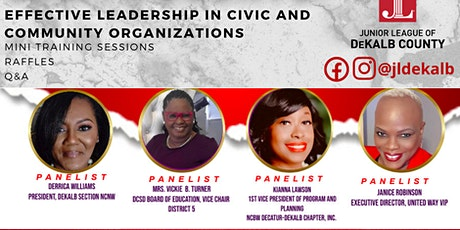 JLD Presents: Effective Leadership in Civic and Community Organizations tickets