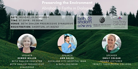Preserving the Environment: Abrahamic Faiths in Dialogue tickets
