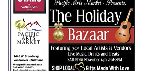 Pacific Arts Market presents The Holiday Bazaar tickets