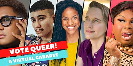 VOTE QUEER! • A Virtual Cabaret to benefit LGBTQ Victory Fund tickets