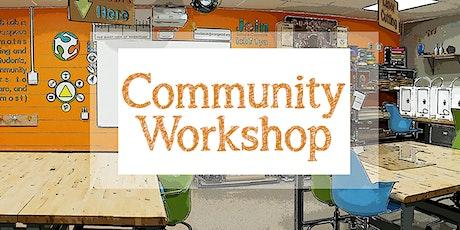 Community Workshop -  Laser Pumpkin Fun bilhetes