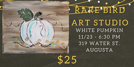 11/23 - White Pumpkin Paint Night tickets
