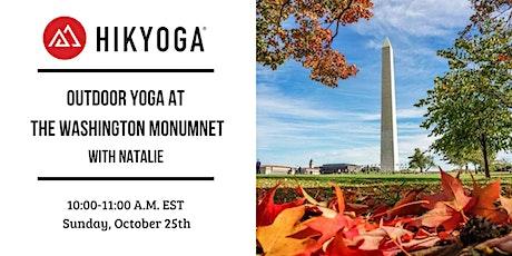 Washington Monument Outdoor Yoga with Hikyoga® DC tickets