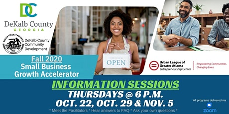 Small Business Growth Accelerator  INFO SESSIONS tickets